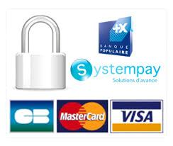 Paiements CB, Mastercard, Visa, sécurisés avec Systempay