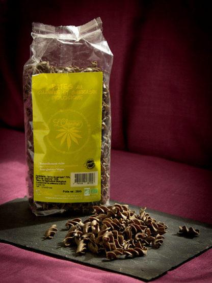 Pâtes chanvre et sarrasin biologiques, sachet de 250 g