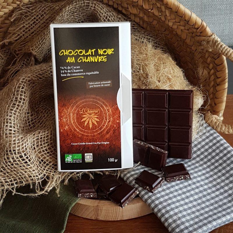 Chocolat au chanvre
