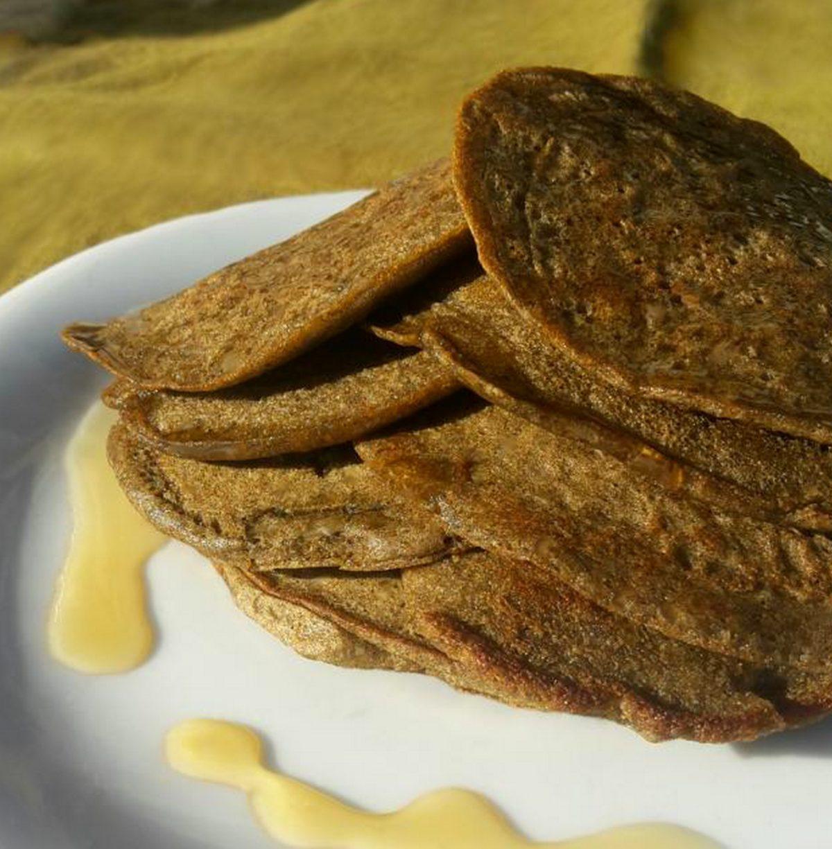 Pancakes au chanvre