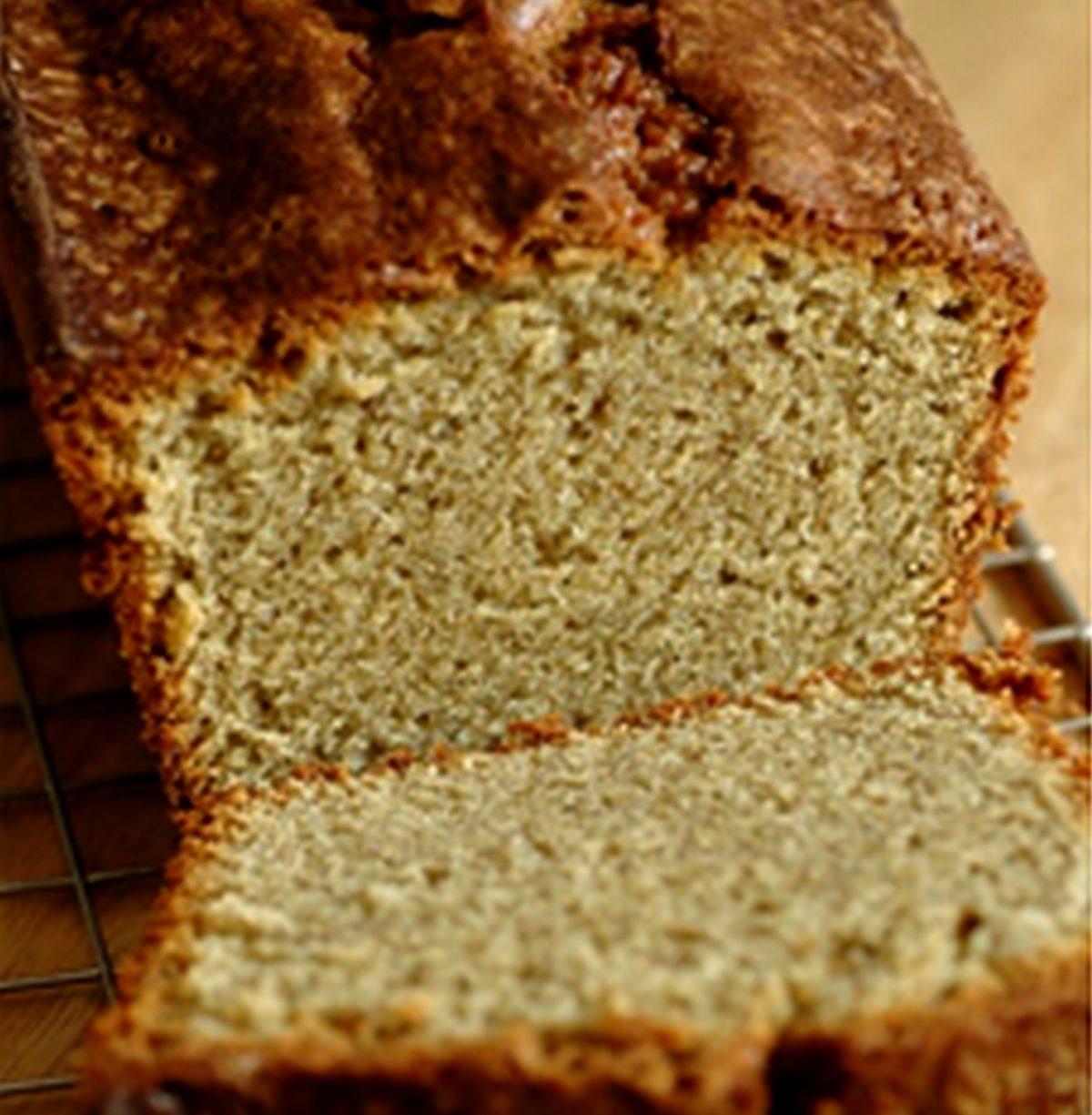 Cake quatre quart au chanvre